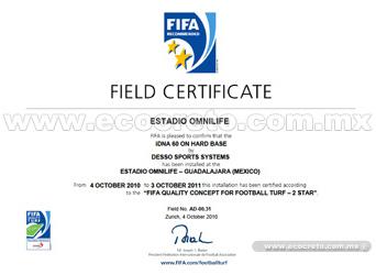 FIFA Certificação OmniLife Stadium